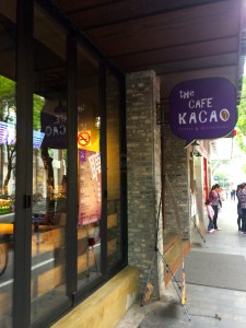 Café Kacao is a good, but expensive alternative for expats in French Concession.