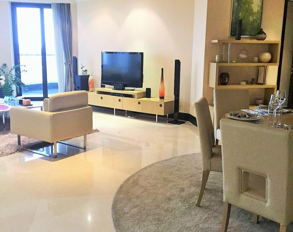 Belgravia Place Apartment Living Room