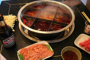 Chongqing Hot Pot can be found several places in Shanghai.