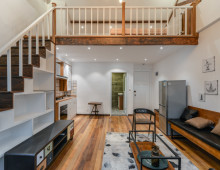 Jingan Temple Lane House for rent