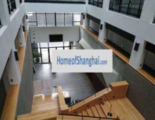 Spacious warehouse office with high ceiling near Suzhou creek
