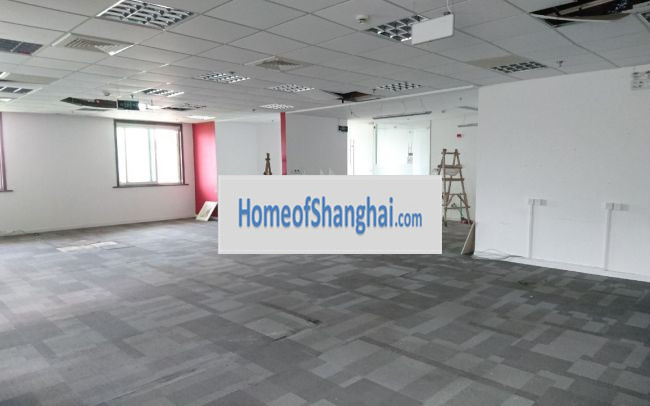Shanghai traditional office rent on Fuxing road,Xuhui