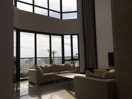 Shanghai French Concession luxury Penthouse apartment for rent in Belgravia
