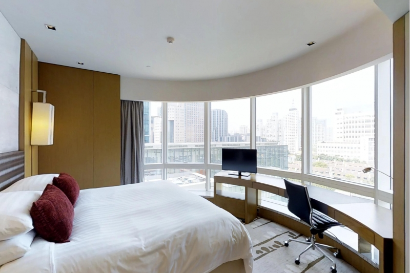 Kerry Residence Jing An 2BR serviced partment for rent in Shanghai