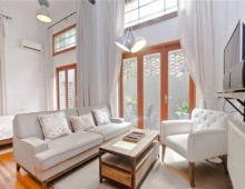 Loft in Shanghai old lane house for rent French Concession