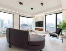 Rent flat near the bund of Shanghai. Apartment to rent in Shanghai