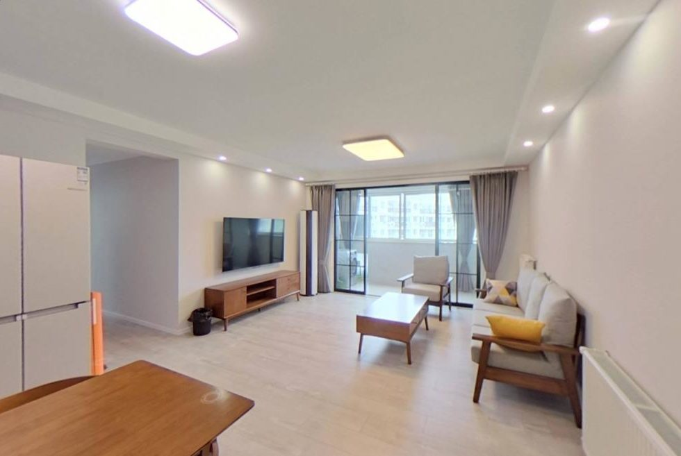 Springdale garden apartment for rent in French concession nr IAPM