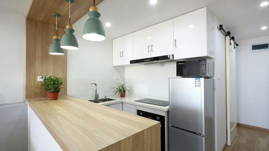 old apartment with elevator rent in French Concession
